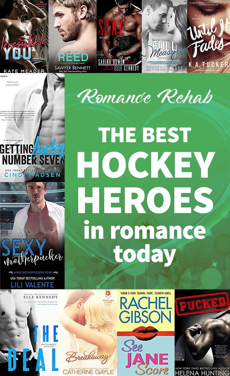 The best hockey heroes in romance in 2020 Good romance