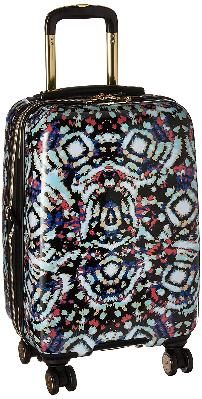 Pink Tie Dye Aimee Kestenberg Womens 28 Hardside Expandable 8-Wheel Spinner Checked Luggage