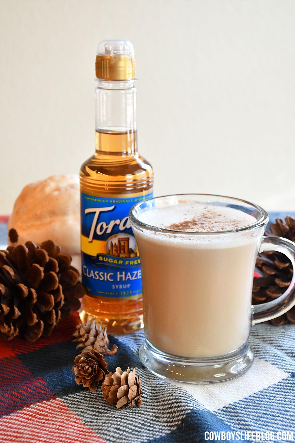 Chocolate hazelnut latte a cowboys life sugar free