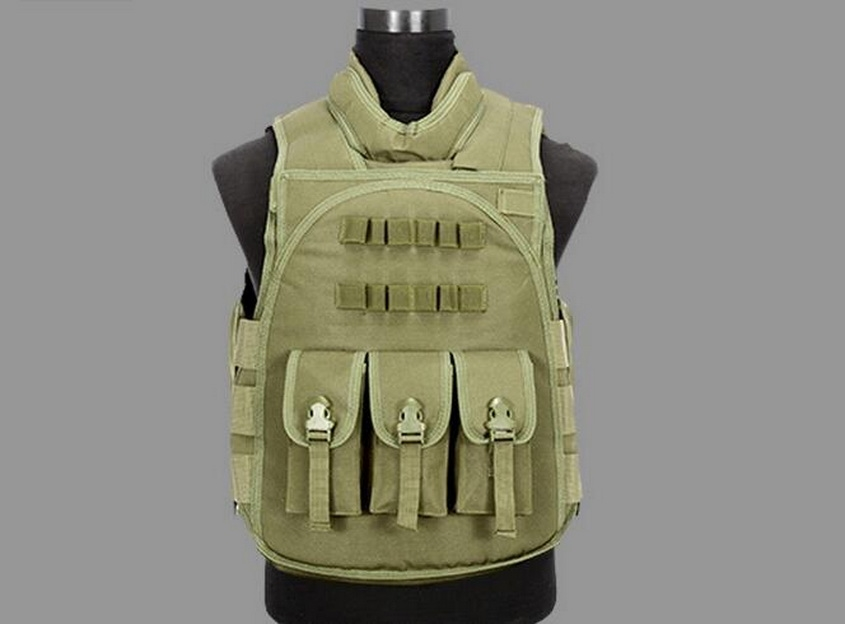 48.00$  Watch here - http://alit0w.worldwells.pw/go.php?t=32545756186 - Tactical vest, amphibious vest, multi pouch hunting vest, tactical equipment, outdoor equipment,New multi-function tool vest 48.00$