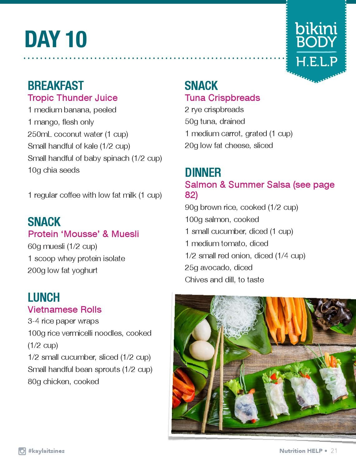 Kayla Itsines Recipes