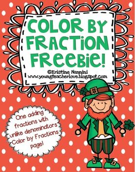 Heres a leprechaun themed color by fraction activity page heres a leprechaun themed color by fraction activity page fandeluxe Images