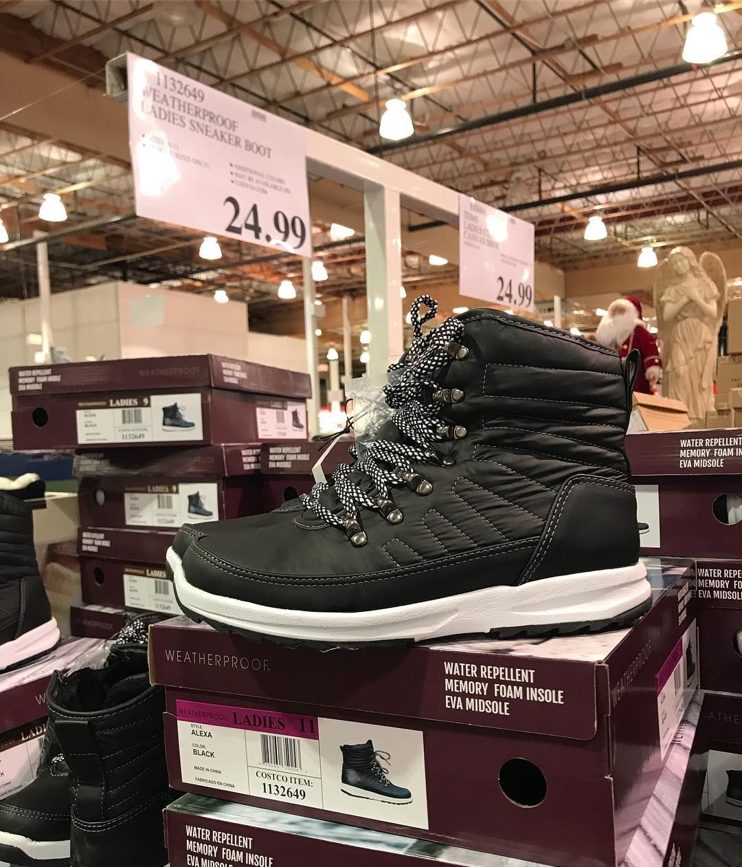 7e214301730 yes please! #weatherproof ladies #sneaker #boots! Only $24.99 ...