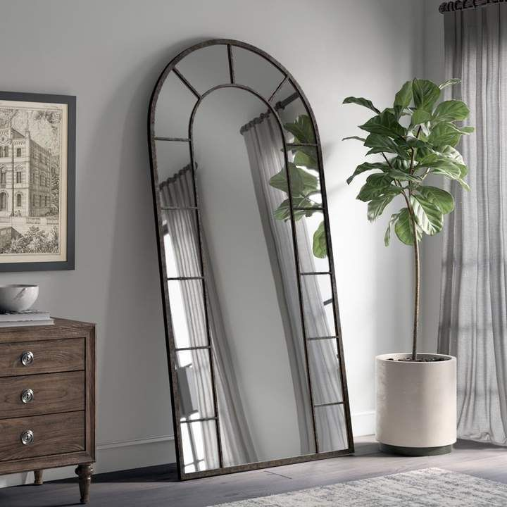 greyleigh vertical silhouette black accent wall mirror on wall mirrors id=82146