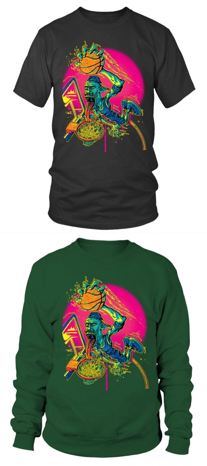 Basketball T Shirt Designs High School Street Baller Drooling