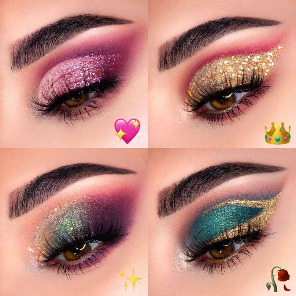 Colourpop Midnight Masquerade Collection Masquerade Makeup Disney Inspired Makeup Prom Eye Makeup