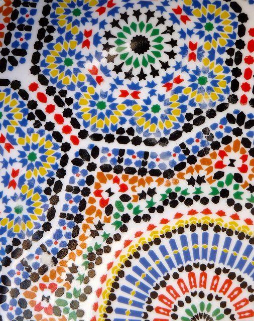 Fonkelnieuw Morocco (met afbeeldingen)   Mozaïek, Tegels, Kleuren QV-26