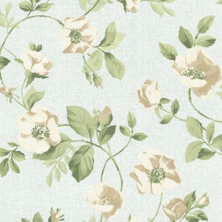 Vliestapeten Landhaus Claremont England Blumen Ranken Tapeten Blumen Kollektion