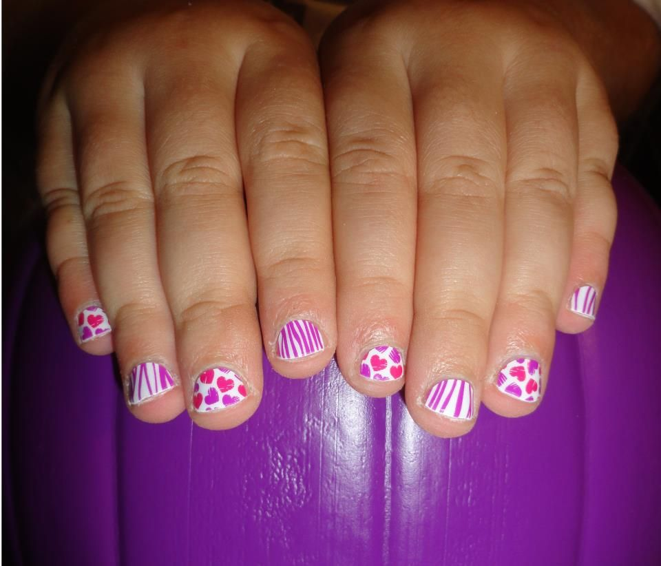 Jamberry Juniors Scribble Hearts & Zebra These fun and creative ...