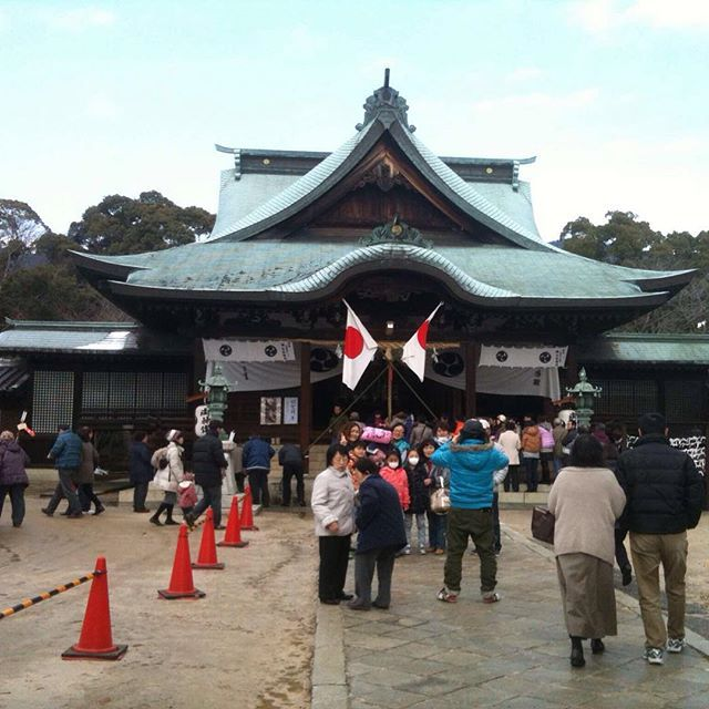"""柳井 代田八幡宮 Shirota Hachiman-gu Shrine  #shrine #yanai #yamaguchi #일본 #야마구치 #여행 #신사 #야나이 #日本 #山口 #柳井 #旅行 #神社 #ญี่ปุ่น #jepang"" Photo taken by @ishideo on Instagram, pinned via the InstaPin iOS App! http://www.instapinapp.com (01/18/2016)"