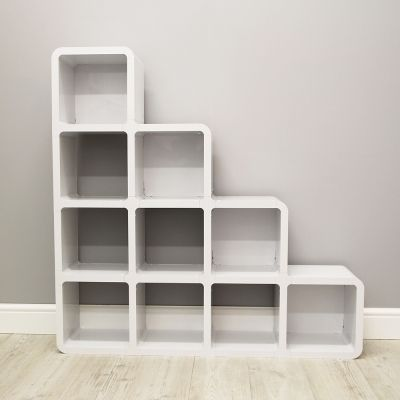 Azil Ten Cube Step Bookcase Cubiix Shop Cube Bookcase Bookcase Step Bookcase