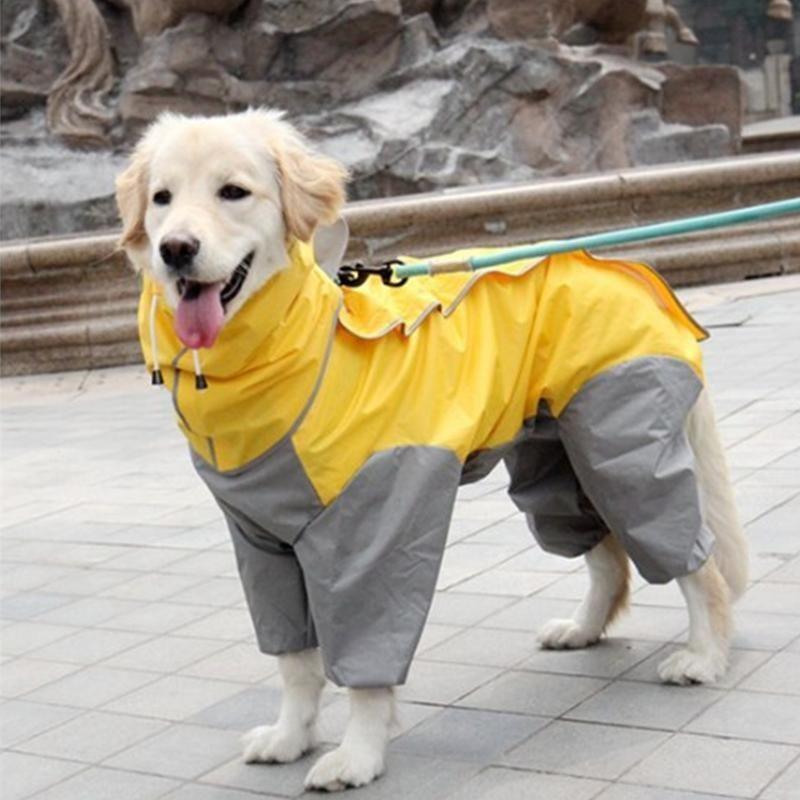 Big Dog Raincoat Large Dog Clothes Big Dogs Dog Raincoat