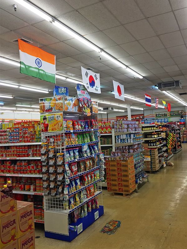 The best international market in Nashville  Looking down the aisles in the  K S world market. The Best International Food Markets in Nashville   Cooking  The o