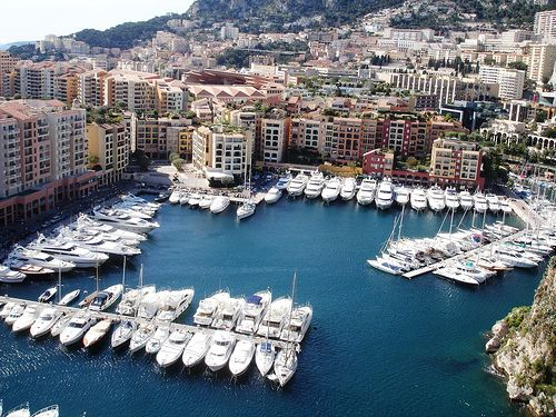 Monte Carlo, one of the ports while cruising the Italian and French Riveria