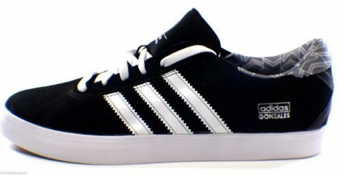 new product 267f6 8e6ca Adidas Gonzales Pro Skate Skateboarding Sneakers Shoes Size 13