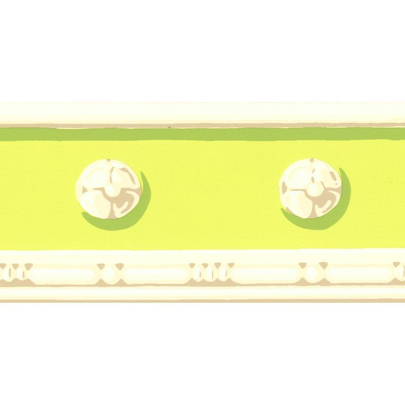 Brewster Vivian Decorative Wall Border Light Green - 413B742158 ...