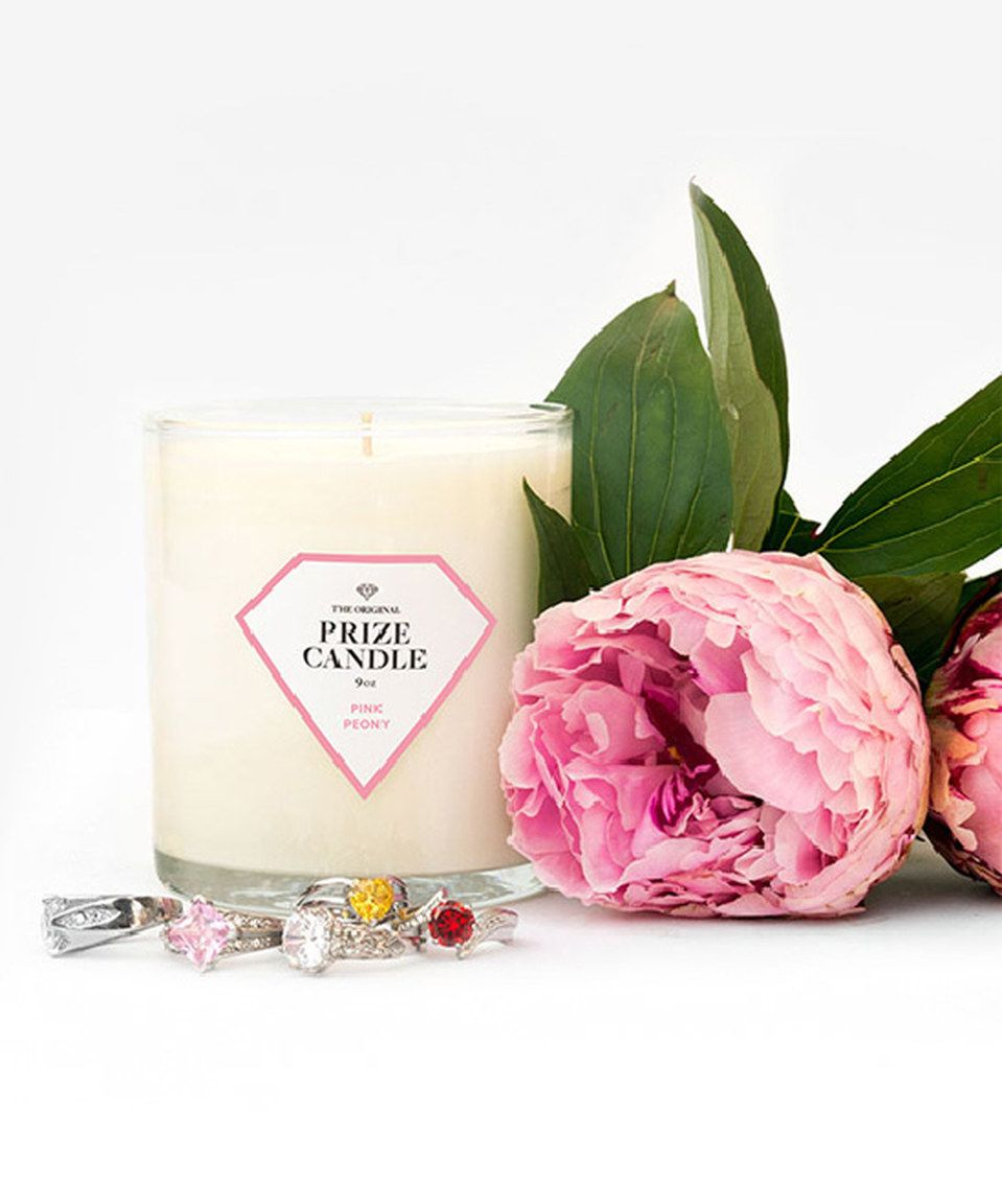 Love this Pink Peony Prize Candle by Prize Candle on #zulily! #zulilyfinds