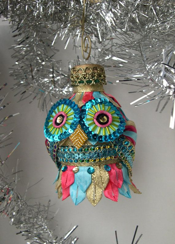 owl ornament - too cute!
