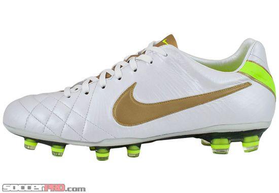 hot sale online 79a55 4bd2d Nike Tiempo Legend Elite IV FG - White with Gold and Volt... 314.99