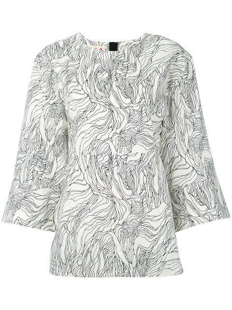07dd347d085fb MARNI Beardsley Printed Blouse.  marni  cloth  blouse