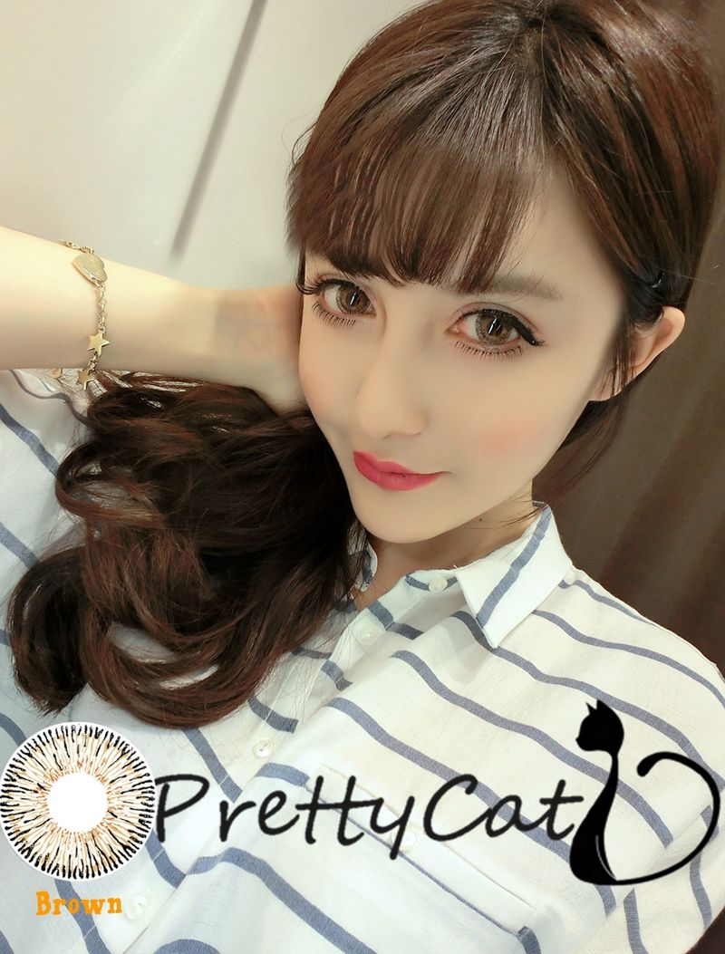 Best Selected Hazel Color Cosmetic Contact Lens Christmas