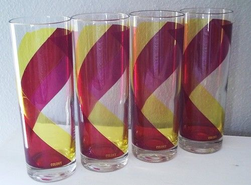 Vintage Colony Glass  tumblers