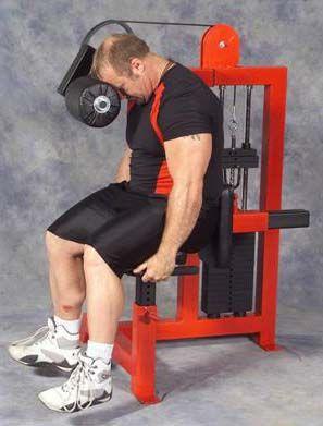 neck machine  no equipment workout workout machines leg