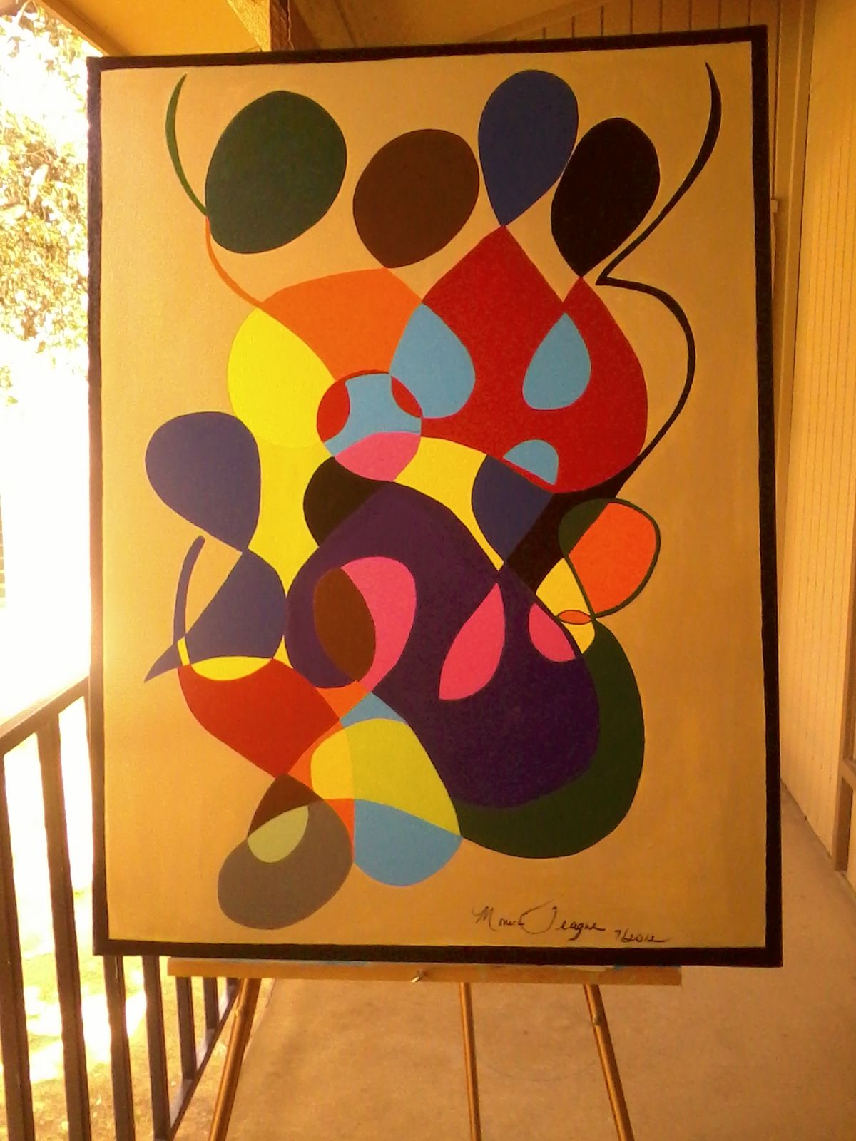 30x40 Multicolored Abstract                         $ 249.95