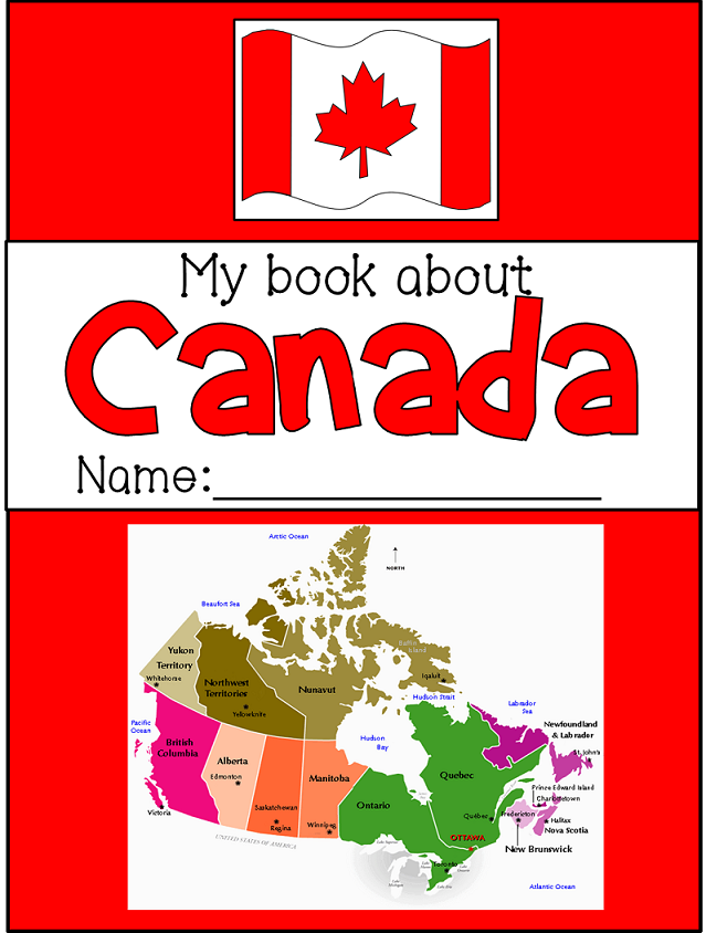 All About Canada Symbols Books And Social Studies