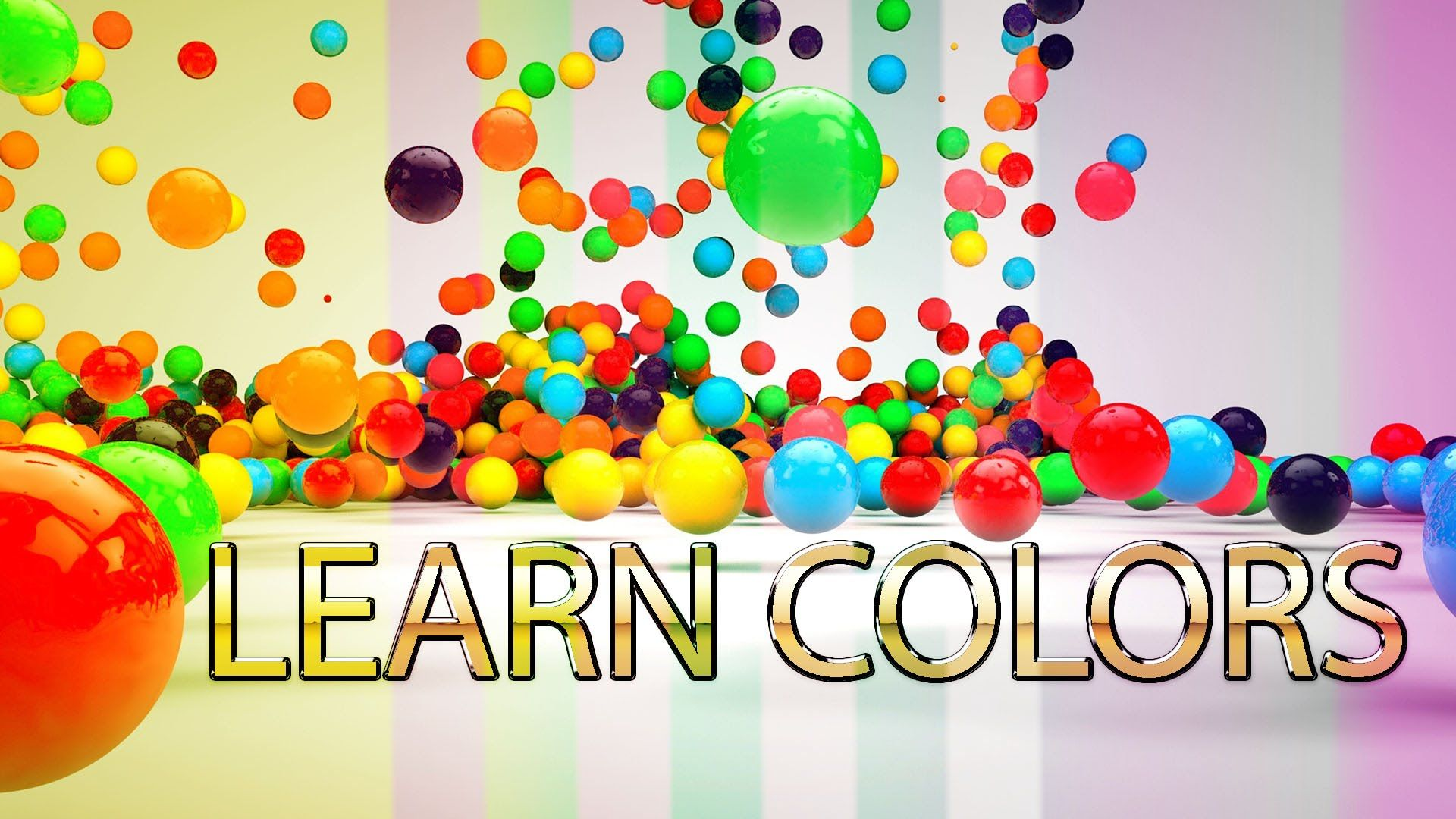 Learn Colors Like Red Blue Green Yellow Orange For