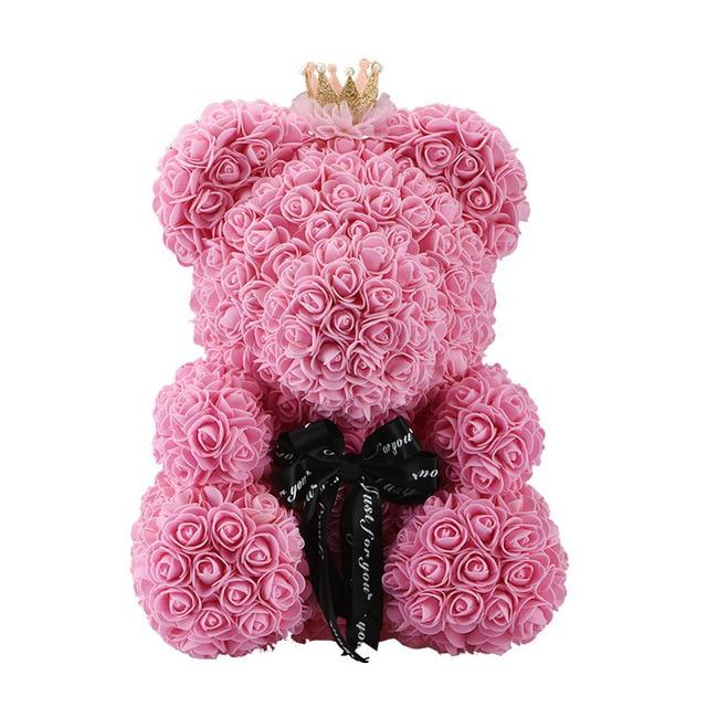 Perfect Valentine Gift 24hrs Shipping 2019 Flower Teddy Bear