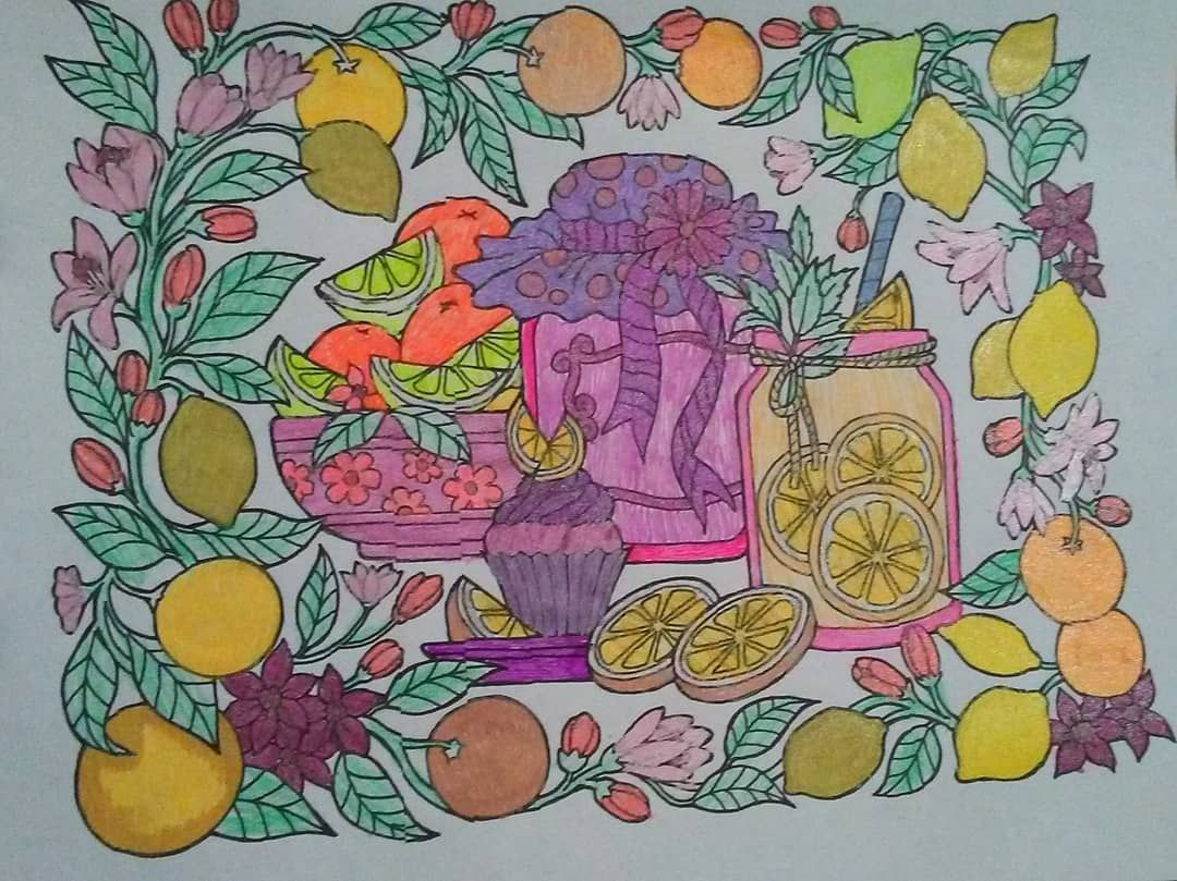 Blissful scenes illustrated by hasby mubarok colorit blissful