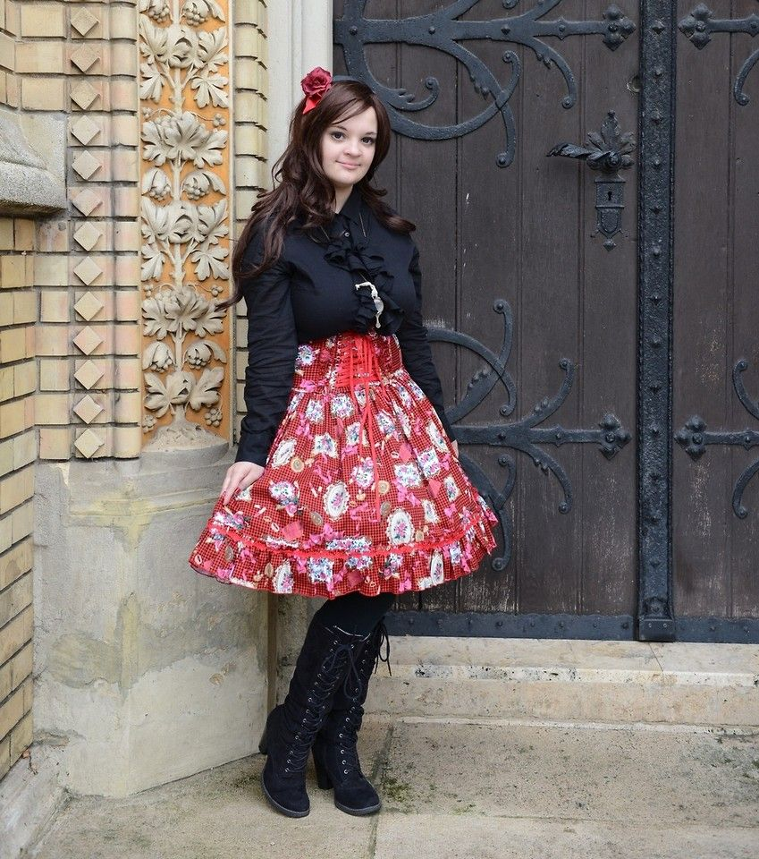 lolita skirts - Google Search
