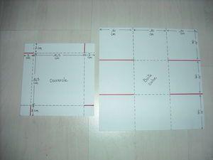 gabarit boite cube sev et lolo scrapent box pinterest. Black Bedroom Furniture Sets. Home Design Ideas