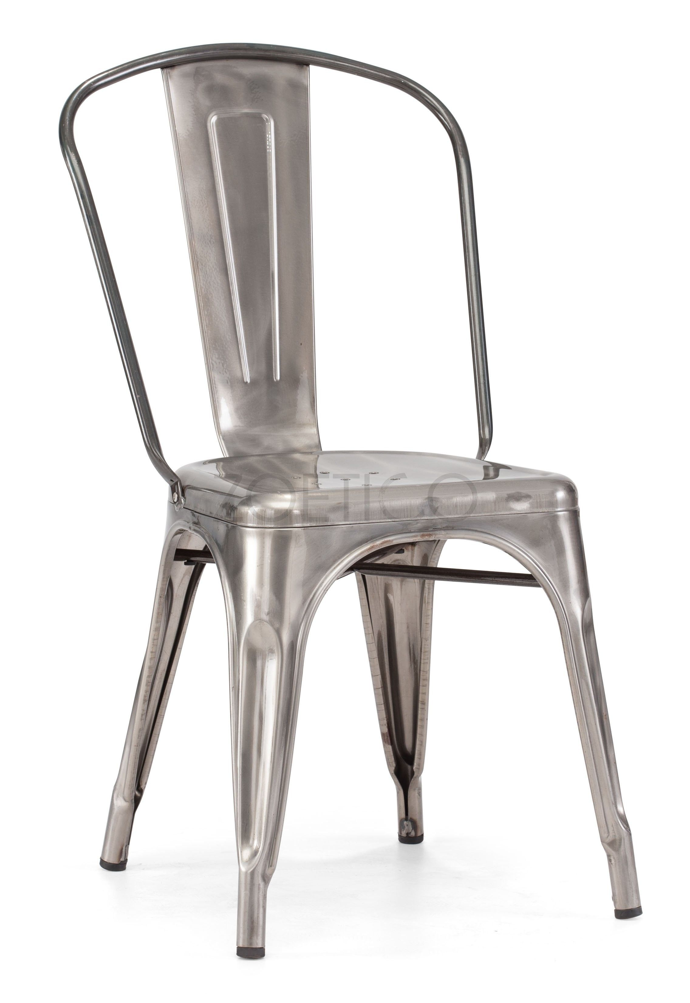 xavier pauchard french industrial dining room furniture. Paurchard Style Marais Side Chair - Gun Metal $116 Metalworker Xavier Pauchard Not Only Brought The Art Of Galvanizing Steel To France But Also Took French Industrial Dining Room Furniture