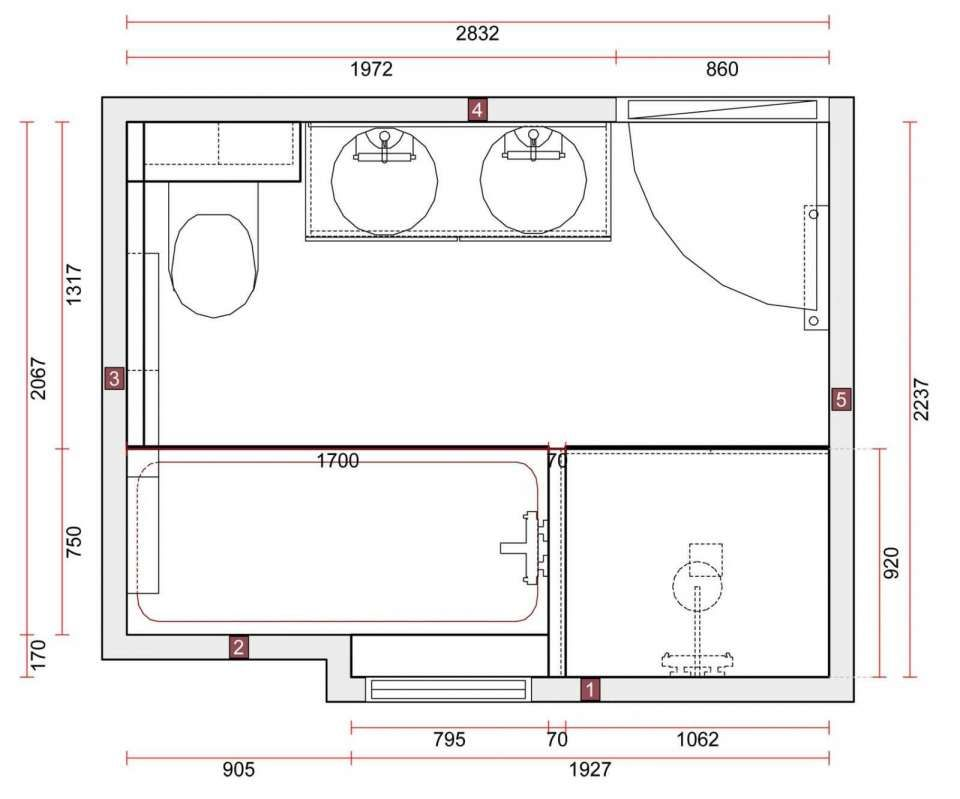 18 Plan Salle De Bain 8m2 Plan Salle De Bain Design De Salle De Bain Salle De Bain Design
