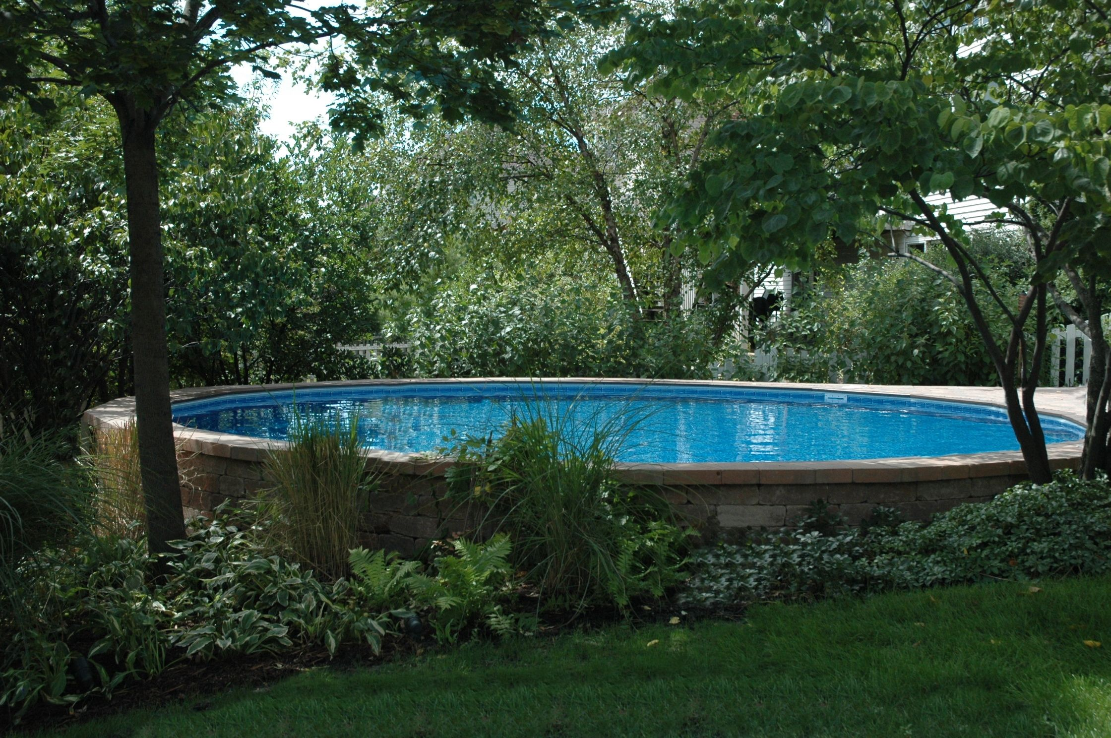 Fox Ultimate Pool Semi Inground Installation Beautiful