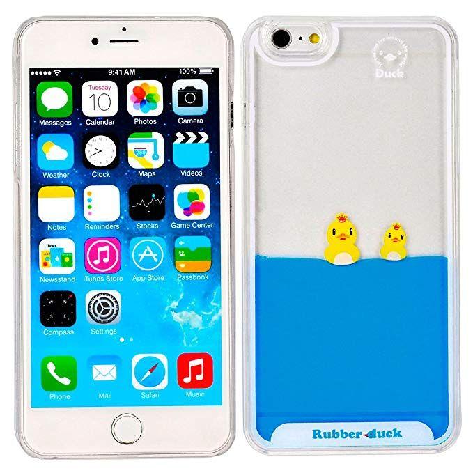 """Yoption Liquid Case for iPhone 6Plus 6sPlus 5.5"""", Clear"""