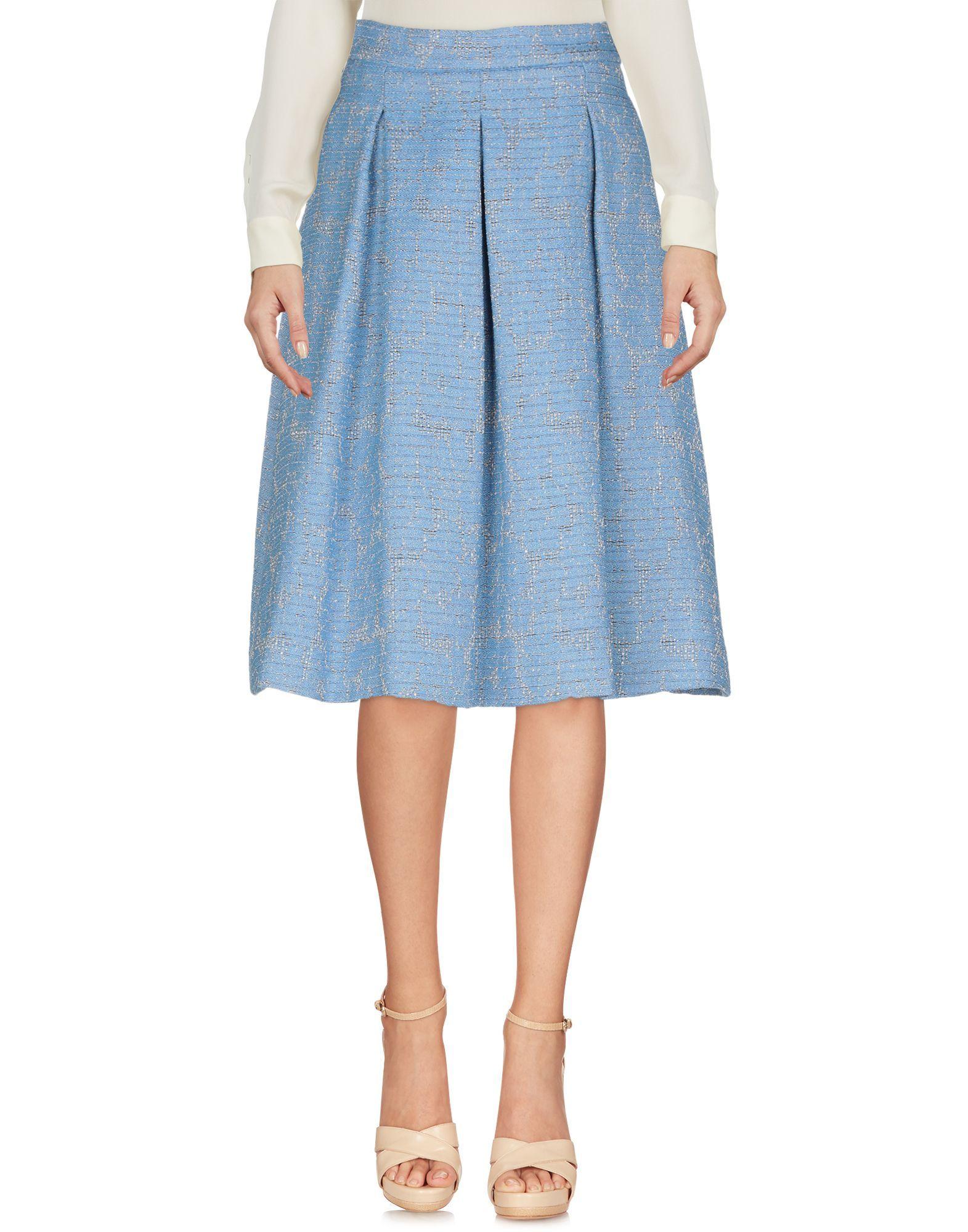 Desconfianza cascada Martin Luther King Junior  Liu •Jo Knee Length Skirt - Women Liu •Jo Knee Length Skirts online on YOOX  United States - 35400220FO   Knee length skirt, Womens skirt, Skirts