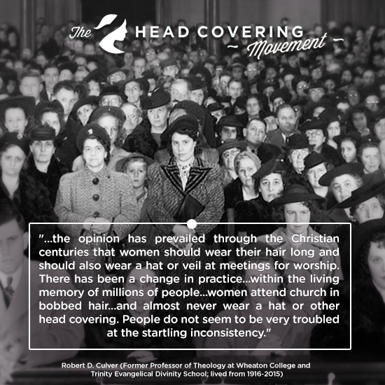 Robert Culver Quote Image #1 | The Head Covering Movement