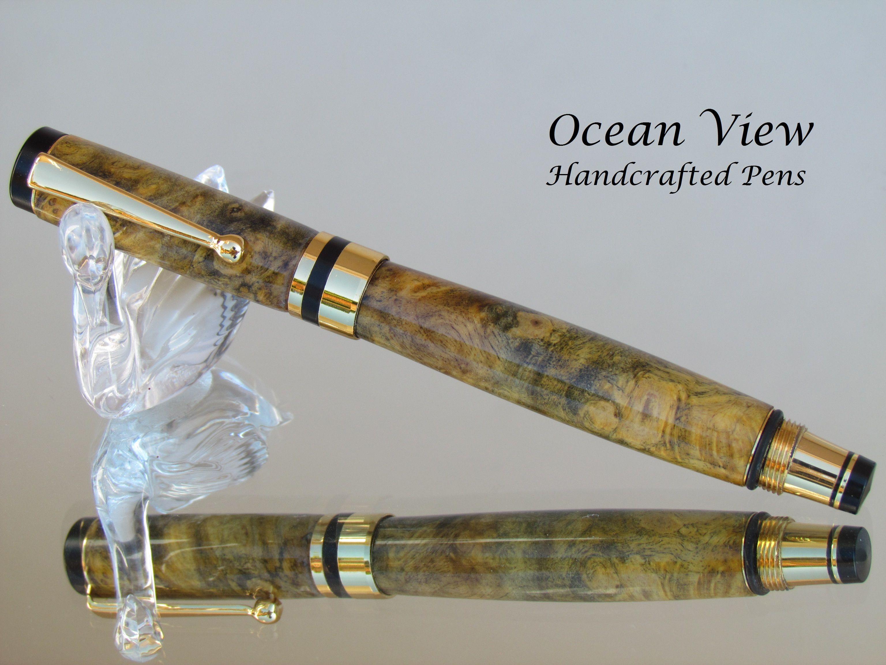 Custom Bamboo Twist Pen