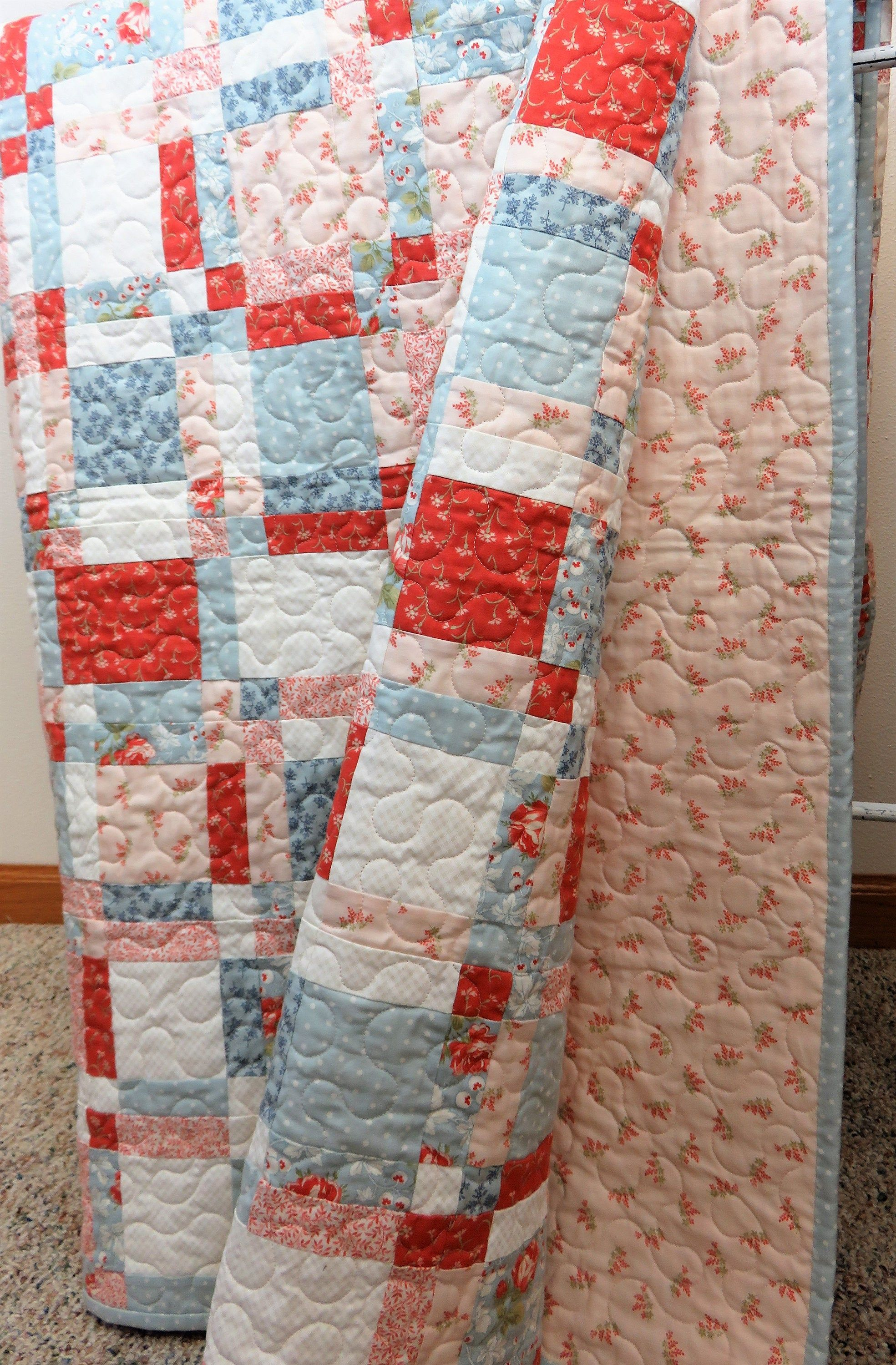 Handmade Quilt For Sale Quilted Throw Twin Size Quilt Full Etsy In 2020 Throw Quilt Handmade Quilts For Sale Handmade Quilts