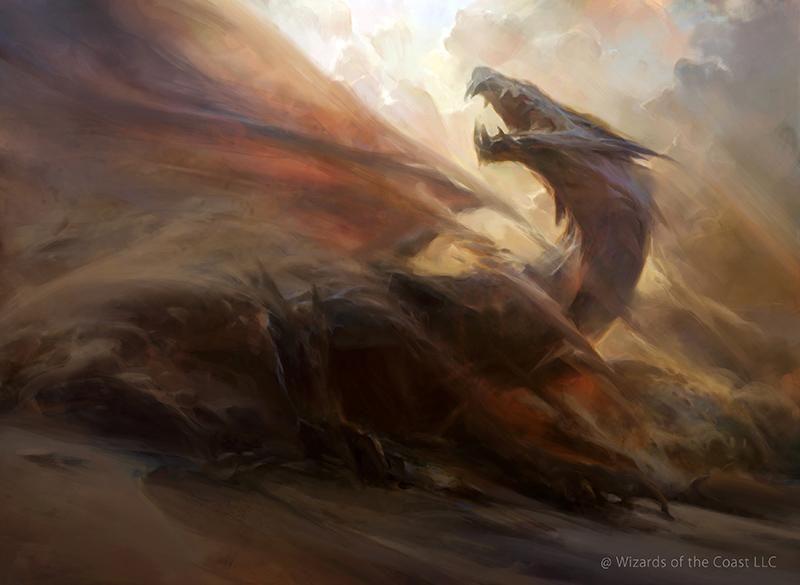 Sandblast - Fate Reforged MtG Art