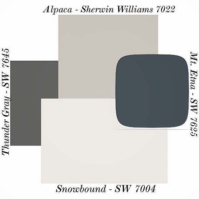 Alpaca Paint Color SW 7022 By Sherwin Williams. View Interior And Exterior Paint  Colors And Color Palettes. Get Design Inspiration For Painting Projects: ...