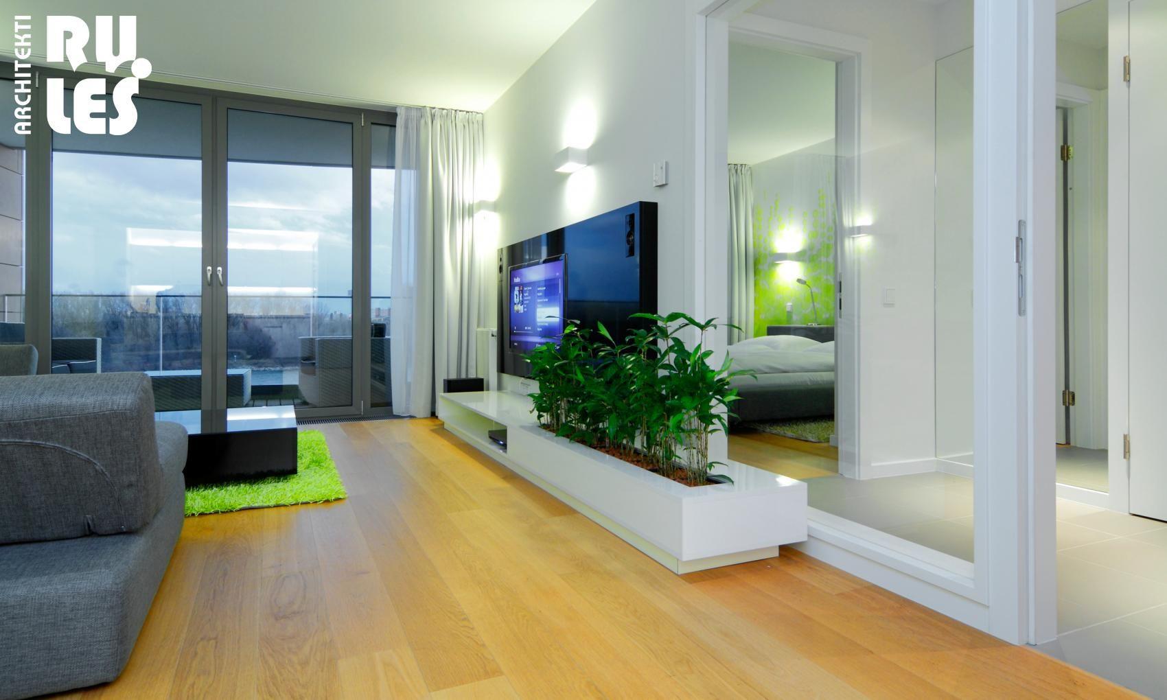 Wonderful Interior Living Room Design Ideas With Indoor Plant Side ...