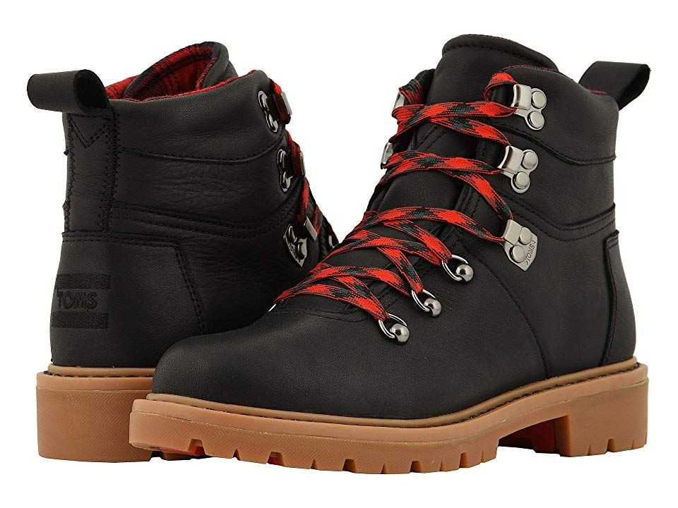 b6988837bef TOMS Summit Waterproof Boot Women s Hiking Boots Black Waterproof Leather