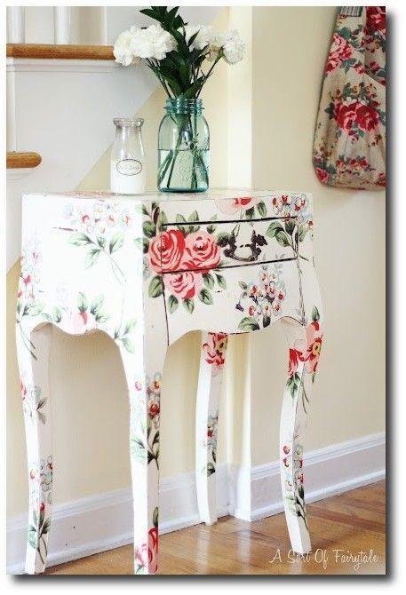 Furniture decoupage ideas