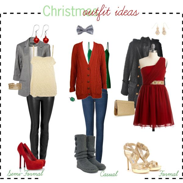 Christmas Outfit Ideas By Tipsbyagirl On Polyvore