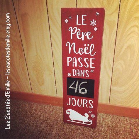 Plaque Signe Personnalisé Santa Stop Here For..