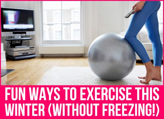 Its cold out there collegiettes! Here are some ways to burn those calories while staying warm!